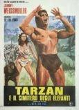 Original Vintage Italian Movie Poster - Tarzan and His Mate,