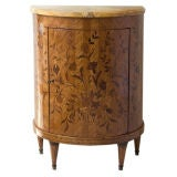 Louis XVI Style Demilune Side Cabinet