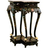 Black Lacquer Chinese Alter Table