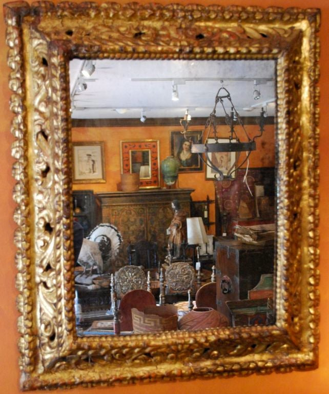 17th century spanish mirror at 1stdibs for 17th century mirrors