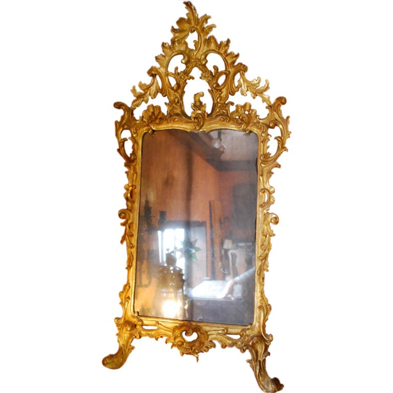 17th Century Mirrors Of Very Fine 17th Century Italian Mirror At 1stdibs
