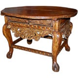 Excellent 18th Century Spanish Colonial Round Table