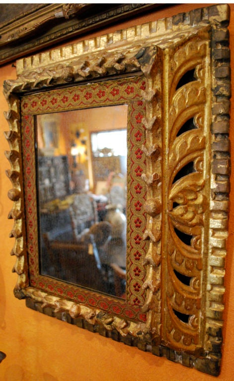 17th century spanish gilded mirror at 1stdibs for 17th century mirrors