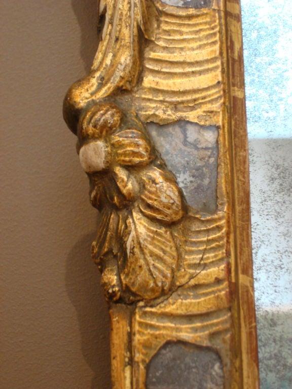 Scandinavian Period 18th Century Danish or Swedish Mirror