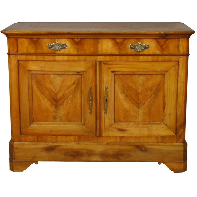 louis philippe cherry buffet at 1stdibs. Black Bedroom Furniture Sets. Home Design Ideas