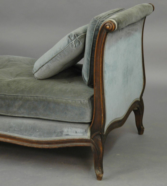 French Upholstered Day Bed For Sale