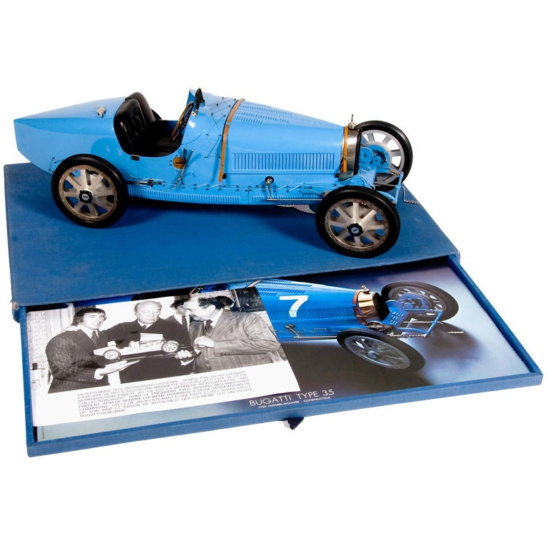 Bugatti Type 35 model.