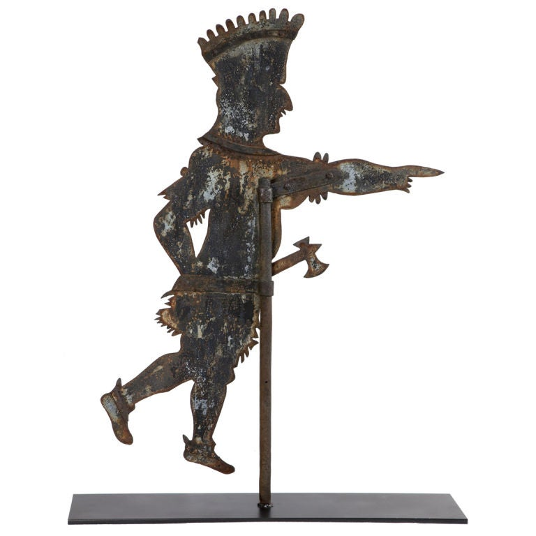 Indian Weathervane At 1stdibs