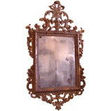 Fine and Rare 18th Century Venetian  Giltwood Mirror.
