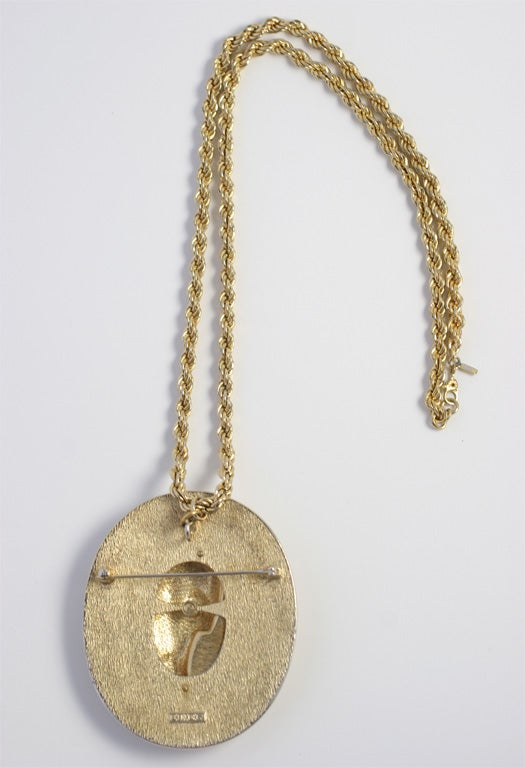 Women's Ciner Pendant Necklace For Sale