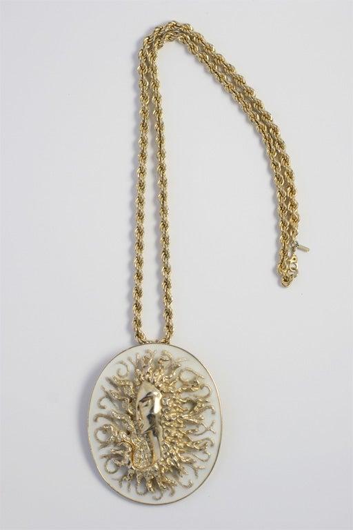 Ciner Pendant Necklace For Sale 6