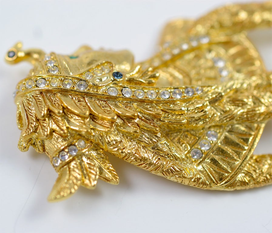Women's Bob Mackie Cleopatra Brooch For Sale