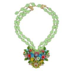 Stanley Hagler Multi Color Necklace