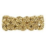 Tiffany & Co. Schlumberger Flexible Gold Bracelet