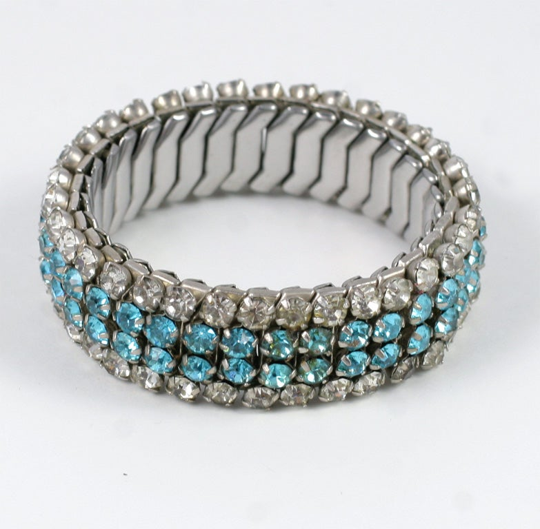 expandable rhinestone bracelet for sale at 1stdibs