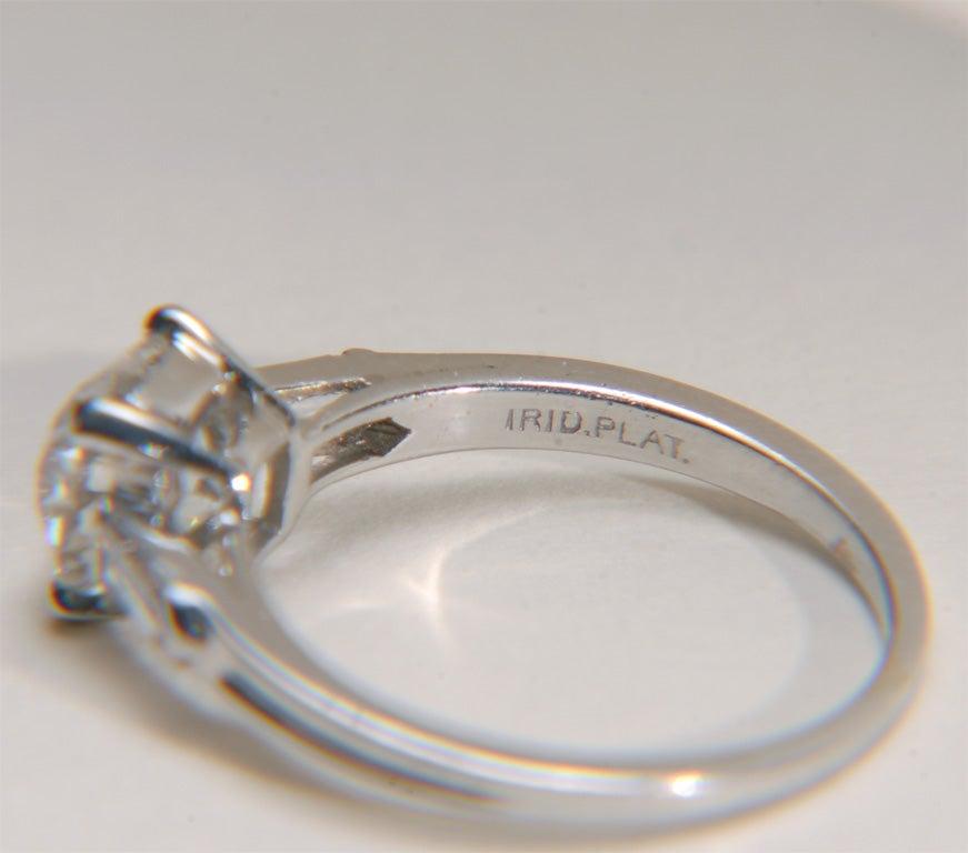 Tiffany And Co Art Deco Platinum And Diamond Engagement