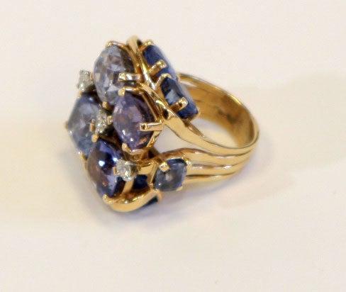 Ceylon Sapphire Ring by SEAMAN SCHEPPS 5