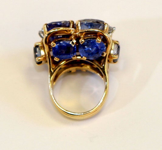 Ceylon Sapphire Ring by SEAMAN SCHEPPS 3