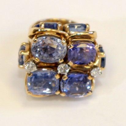 Ceylon Sapphire Ring by SEAMAN SCHEPPS 4