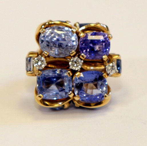 Ceylon Sapphire Ring by SEAMAN SCHEPPS 2