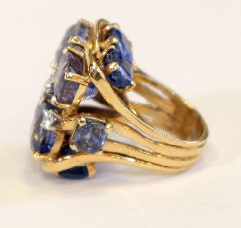 Ceylon Sapphire Ring by SEAMAN SCHEPPS 6