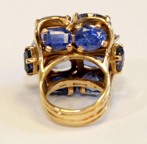 Ceylon Sapphire Ring by SEAMAN SCHEPPS 7