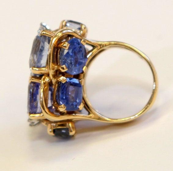 Ceylon Sapphire Ring by SEAMAN SCHEPPS 8