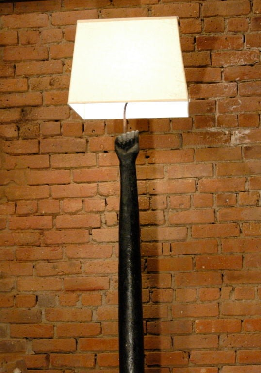 Hitching Post Lamp 2