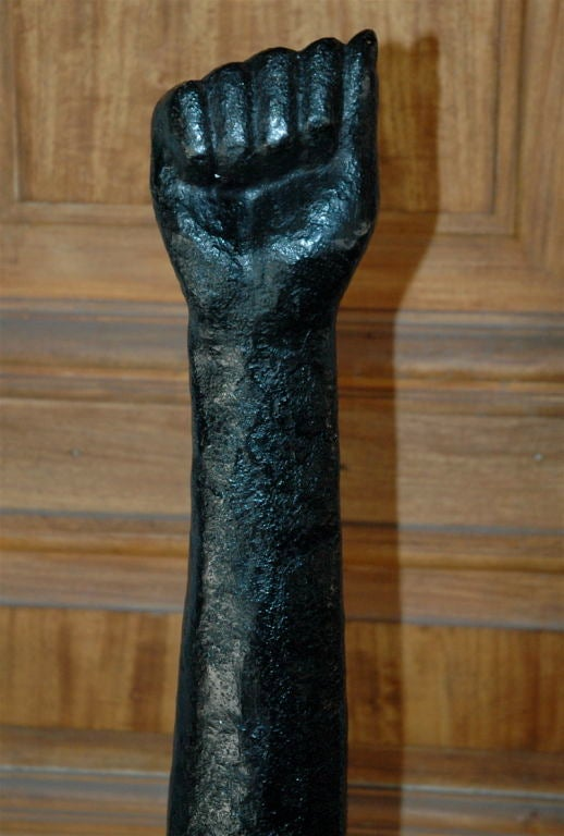 American Hand Sculpture For Sale
