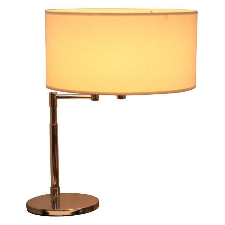 studios adjustable chrome swing arm desk lamp is no longer available. Black Bedroom Furniture Sets. Home Design Ideas