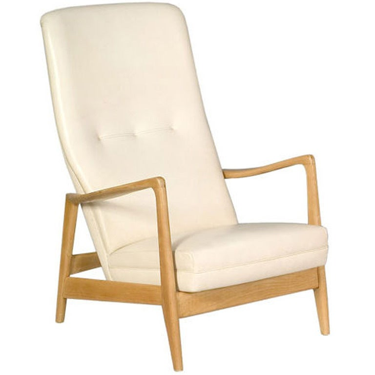 Birchwood Easy Chair by Gio Ponti for Cassina, 1958 For Sale