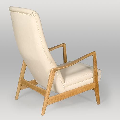 Birchwood Easy Chair by Gio Ponti for Cassina, 1958 In Good Condition For Sale In London, GB