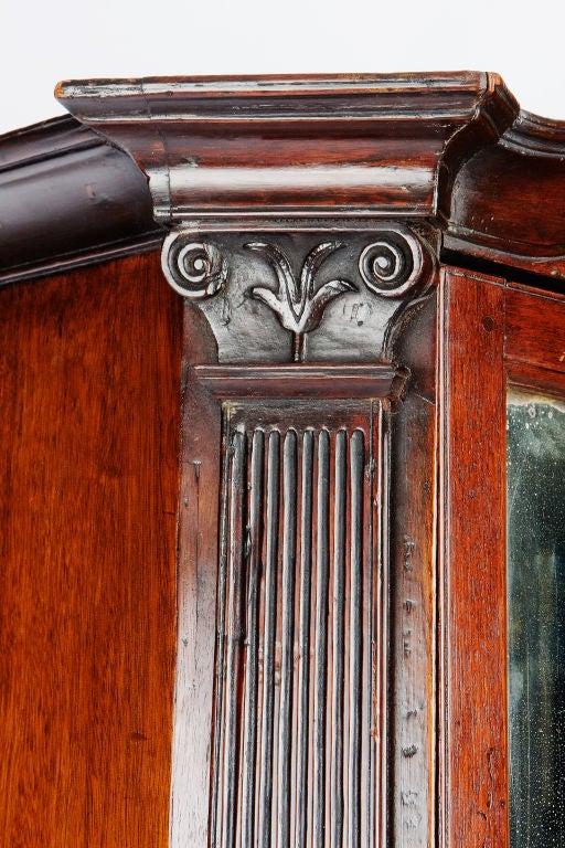 George IV Mahogany Bureau Bookcase For Sale 1