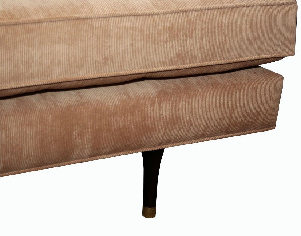 M N Custom Tufted Corduroy Sofa At 1stdibs