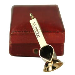 Cartier London 9k Cigarette Cutter In Fitted Box