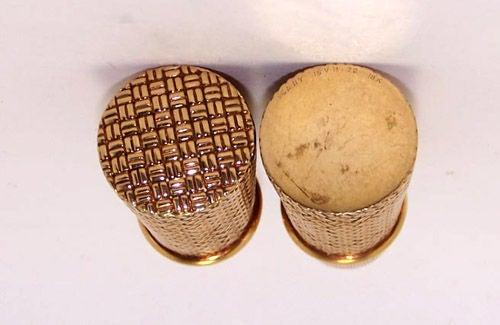 Vintage Van Cleef & Arpels Yellow Gold Lipstick Holder c. 1950s image 4