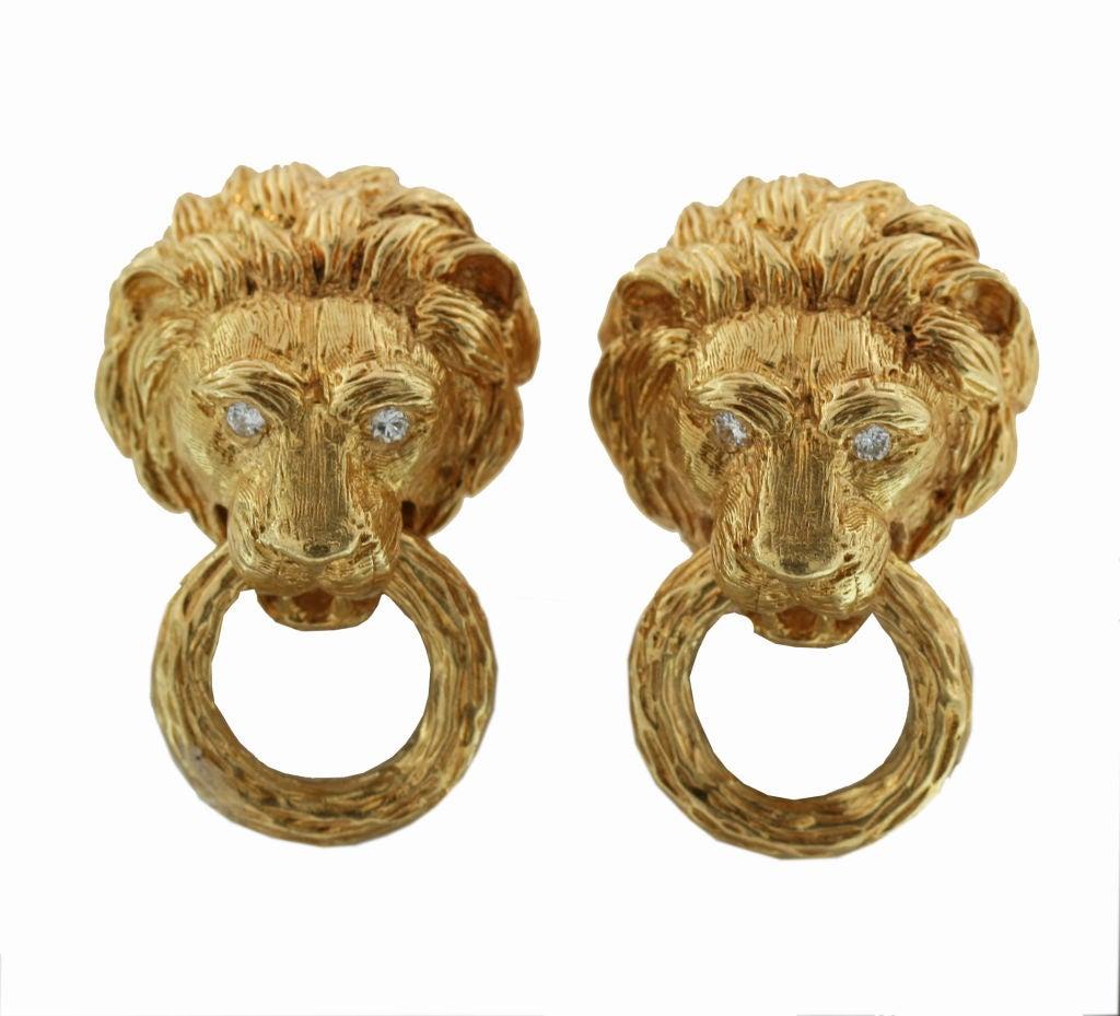 Van Cleef And Arpels Iconic Lion Head Door Knocker