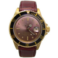 1980's Rolex Submariner One-of-a-kind Color Change Nipple Dial