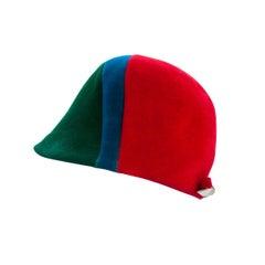 Tricolor graphic design  Jockey hat