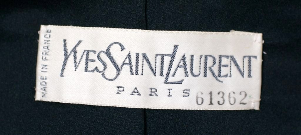 YSL Haute Couture Gold Leather Jacket For Sale 1