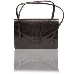 Lizard Skin Evening Bag