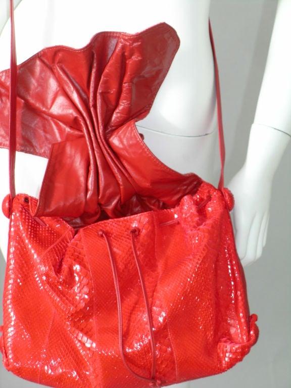 Carlos Falchi Snakeskin Bag 3