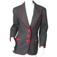 Franco Moschino Heart Jacket