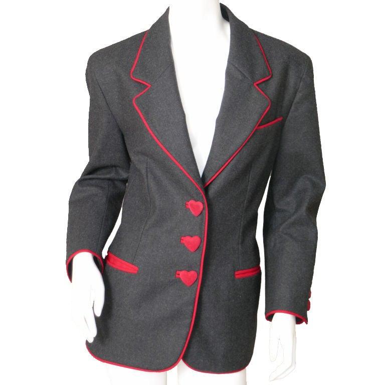 Franco Moschino Heart Jacket