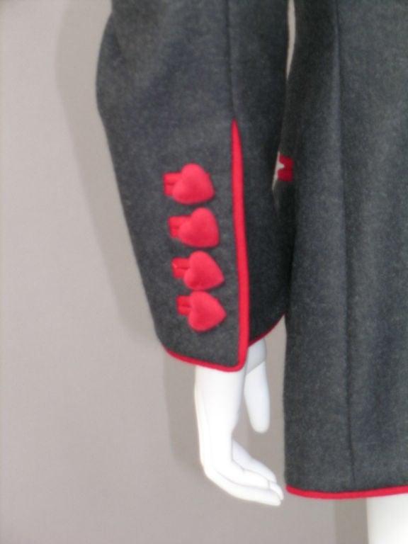 Franco Moschino Heart Jacket 3