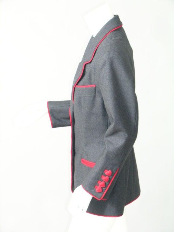 Women's Franco Moschino Heart Jacket
