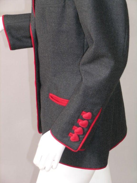 Franco Moschino Heart Jacket 1