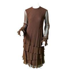 John Anthony Chiffon Dress