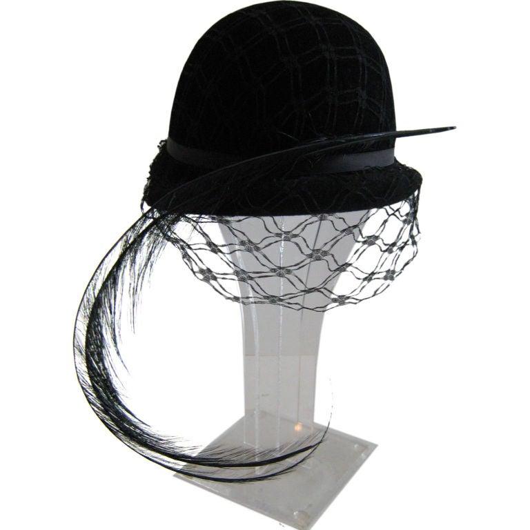 Christian Dior Bowler Hat 1