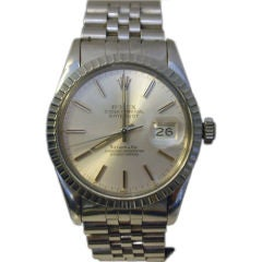 ROLEX For Tiffany, Oyster Perpetual DateJust Men's Watch, C 1972